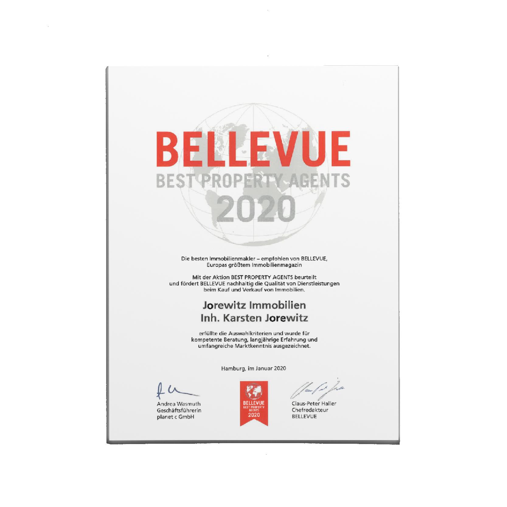 Urkunde_Bellvue2020