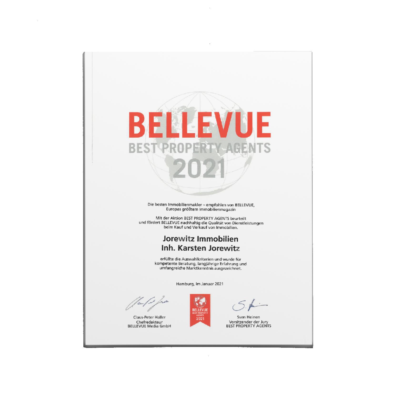 Urkunde_Bellvue2021