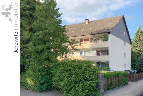Zwischen City und Radrennbahn: 2 Zimmer-Wohnung mit Balkon und Hobbyraum, 33607 Bielefeld, Etagenwohnung