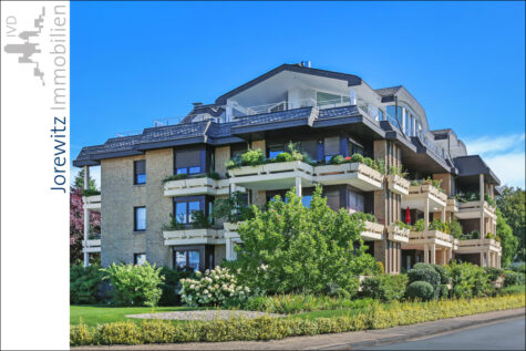 Bielefeld-Theesen: Sehr gut aufgeteilte 3 Zimmer-Wohnung mit 2 Bädern und großen, schönem Balkon, 33739 Bielefeld, Erdgeschosswohnung