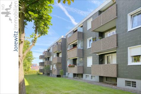 Bielefeld-Heepen: Familienfreundliche 4 Zimmer-Wohnung mit Einzelgarage und Balkon, 33719 Bielefeld, Etagenwohnung