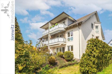 Bielefeld-Quelle: Helle und sehr gepflegte 3 Zimmer-Wohnung mit toller Sonnenterrasse, 33649 Bielefeld, Terrassenwohnung