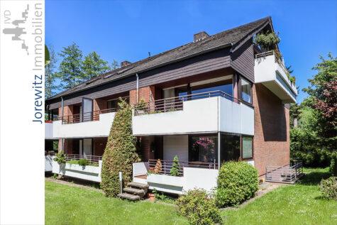 Sieker-Schweiz: Schickes Appartement mit tollem Sonnenbalkon und Einzelgarage, 33605 Bielefeld, Etagenwohnung