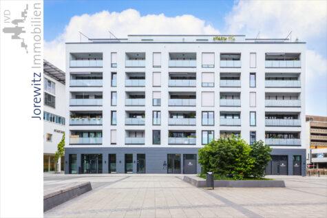 Bi-City – Wohnen am Neumarkt: Gemütliche 2-Zimmer-Wohnung mit überdachten Balkon, 33602 Bielefeld, Etagenwohnung